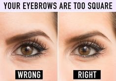 Doing this too harshly can immediately make them look drawn on (a.k.a. fake). Instead, create shape by using tiny, hair-like strokes, regardless of whether you use a pencil, an angled brush topped with brow powder, or a brow mascara. To see a full article on this technique, click here.