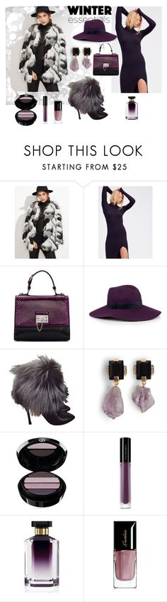 """Winter outfit"" by sanya-marc ❤ liked on Polyvore featuring Free People, Dolce&Gabbana, Christys', Sergio Rossi, Marni, Giorgio Armani, Illamasqua, STELLA McCARTNEY, Guerlain and Winter"