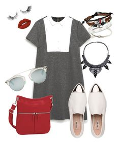 """casual"" by carla1509 on Polyvore featuring Zara, Miu Miu, Longchamp, Cartier, Bling Jewelry, Christian Dior and Lime Crime"