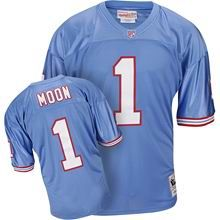 adfd4433d Mitchell   Ness Houston Oilers 1993  1 Warren Moon Throwback LT blue. Buy  Jerseys