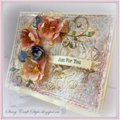 #cheeryld Add a Flourish Challenge Winner! BJ decided to award 5 winners this week, the second is... Stacey Chic! http://stacycraftstyle.blogspot.ca/2014/02/touch-of-pink_2.html