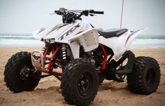 Honda TRX 450R Test Ride