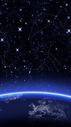 Constellation Space iPhone 6 wallpaper