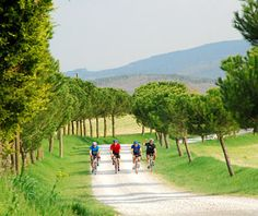 Biking Through Umbria, Italy :)