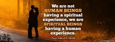 Spiritual Beings Having A Human Experience - Facebook Cover Photo