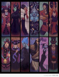 """The Villainous World of Disney"" by *northchavis on deviantART- Maleficent is my all-time favorite villain! Disney Magic, Disney Pixar, Disney Fan Art, Disney Animation, Disney E Dreamworks, World Disney, Disney Amor, Evil Disney, Disney Diy"