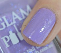 Dance first think later Glam Polish - Pirouette Flakies