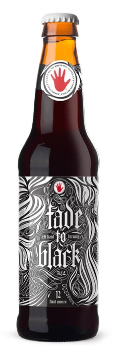 Left Hand Brewing - Fade To Black - 2013 & 2010 Gold Medal Winner at Great American Beer Festival in Foreign Stout category. Black licorice, espresso, molasses, and black cardamom notes. | Featured at this year's Fall Tradeshow