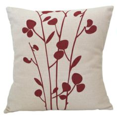 Add a splash of interest and design to your home with these sturdy, 100% cotton throw pillows. The pillows are hand screen printed by fair trade artisans using low impact dyes.
