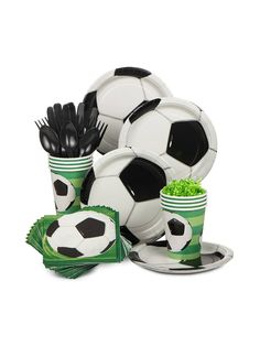 Soccer Party Standard Kit - Party Supplies from Birthday in a Box