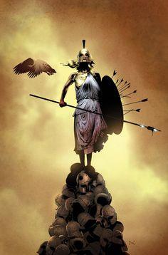 The Trojan war, by Dennis Calero