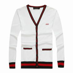 63d12157b52 Designer Gucci Men s Long Sleeve Sweater White  Red  Green  www.saleurbanclothing.com