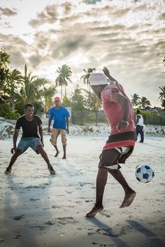 To play football in the summer on asand beach. Every summer. The best feeling ever <3