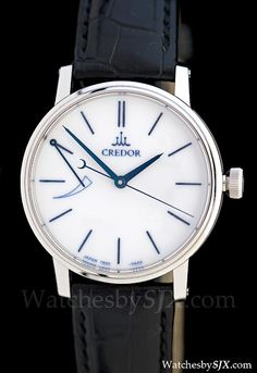 One of the finest finished watches in the world - a Seiko Credor Eichi (Watches by SJX)