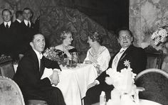 Joseph and Magda Goebbels with Hermann and Emmy Göring