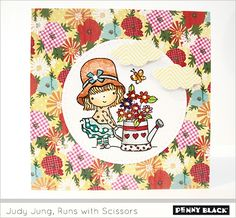 Judy is running with scissors on the Penny Black blog-- check out her post for details, inspiration, and a good laugh!