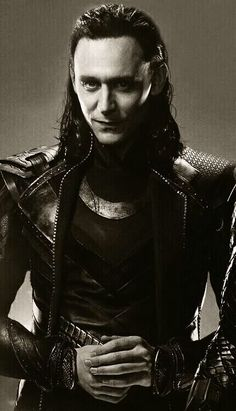 Loki reminds me of Puck from A Midsummer Nights Dream which is ironic because Tom loves Shakespeare.