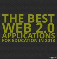 The Best Web 2.0 Applications For Education In 2013!  There are over 1,200 lists now that are categorize and updated regularly.