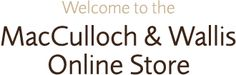 Welcome to the MacCulloch & Wallis Online Store