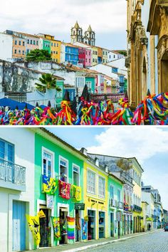 20 of the Most Colorful Cities in the World - Avenly Lane Travel | Salvador, Bahia, Brazil, Brasil
