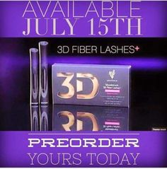 $29 Now taking pre orders for our enhanced 3D Fiber+ mascara. 2 patents pending! Lengthens your own lashes up to 400%, and is made with our Uplift eye serum to nourish your lashes! Message me at dodieglover@gmail.com to claim yours today!! While supplies last <3 #mascara #3DFiber+ #Younique