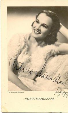 Adina Mandlová - Lil' Adina... Best actress ever ;)