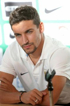 Jesus Nava Spanish Soccer Player- Manchester City #15... I think I might have to start watching soccer!