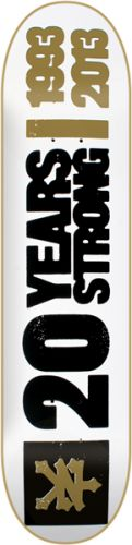 Appetite Skateboards - ZOO YORK 20 YEARS STRONG Skateboard Deck-8.25 White, $46.99 (http://appetiteskateboards.com/zoo-york-20-years-strong-skateboard-deck-8-25-white/)