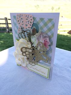 """Happy World Card Making Day! I hope you're feeling """"Fabulous"""" today https://www.etsy.com/shop/481Designs ❤️ #worldcardmakingday #handmadecard #handmade #etsyseller #cards #fabulous Fabulous card, designer handmade/handcrafted greeting card, bridesmaids gift, gift for friend, gifts for best friend, fancy handmade card by 481Designs on Etsy https://www.etsy.com/listing/295214697/fabulous-card-designer"""