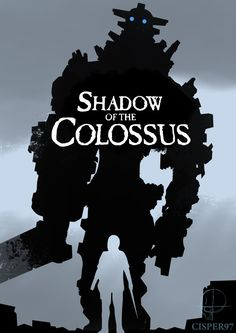 I think we all can agree on that Shadow of the Colossus is the greates game ever, so of cause this should be in my next poster video since I messed up t. Shadow of the Colossus Iron Man Wallpaper, Graphic Projects, Fantasy Races, Videogames, Best Games, Character Concept, League Of Legends, Manga Art, Game Art