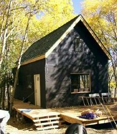 14 x 24 Owner Built Cabin w/Loft   Truth is Treason   Truth is Treason