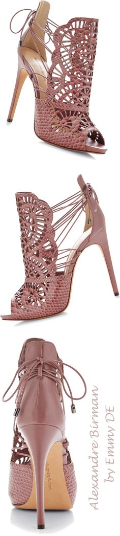 Alexandre Birmann Cut-Out Python Sandals | shoes ( booties )