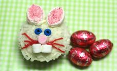 Easter bunny cupcakes recipe - Kids cooking