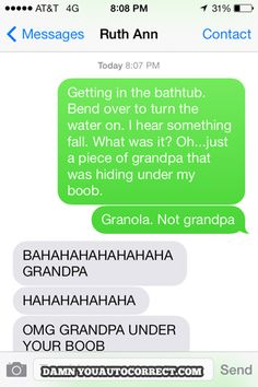 funny auto-correct texts - The Funniest Autocorrects Of July 2014!