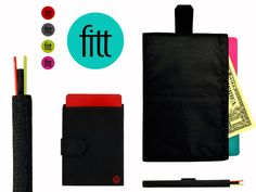 FITT: A more functional slim wallet by Eric Young with Pen & Clay — Kickstarter
