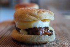 English Muff Sandwich at St. Philip, Austin Texas