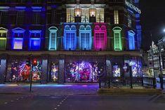 Harvey Nichols, London | Weihnachtliche Schaufenster-Dekos in den Großstädten | POPSUGAR Deutschland Photo 10