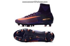 NIke Men's Mercurial Superfly V AG ACC Football Boots Soccer Cleats Orange Purple $ 78.00