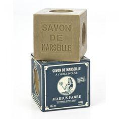 Savon de Marseille à l'huile d'olive  400 g chez Maison Empereur Paris