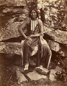 Little Bear, a proud Cheyenne warrior seated holding a long pipe, the day after his arrival in the area Native American Images, Native American Beauty, Native American Tribes, Native American History, Native Americans, American Art, Navajo, Indian Tribes, Native Indian