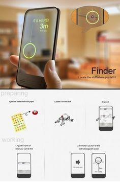 Forgot where you left something? Fear no longer The Finder will help you. #gadgets #tech #mindymcpherson