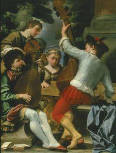 Donato Creti, Musical Group, c. 1695