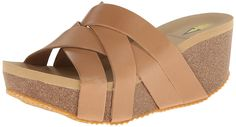 Volatile Women's Mayfield Wedge Sandal * Trust me, this is great! Click the image. : Wedge sandals