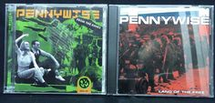 Pennywise CD/CDs Lot of 2: Land of the Free? + From the Ashes