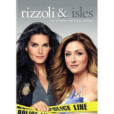 Rizzoli Isles The Complete Seventh Final Season Dvd Walmart Com In 2021 Rizzoli Dvd Maura Isles