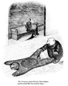 Addams Family Comic by Charles Addams