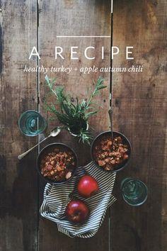 turkey apple chili