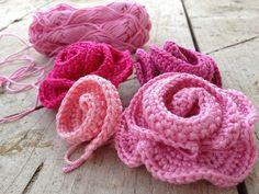 crafto-mania: Háčkované kvety - postup