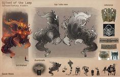 Dijinni of the Lamp (Aladin) - erysium