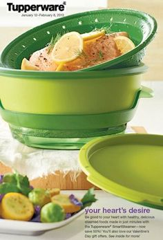 Tupperware Smart Steamer I love this STEAMER!!!  and it is on SALE this week til 2/8!  I can order it for you!!